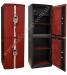 Дизайнерский сейф с отделкой кожей ЛУКА ДУБЛИН Leather