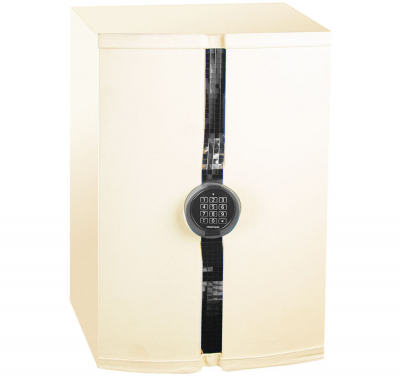 Дизайнерский сейф с отделкой кожей ЛУКА БАРСЕЛОНА Leather