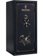 "Сейф оружейный BROWNING ""Silver"" SR33FE Gloss Black Biometric"