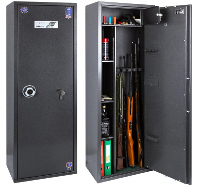 Сейф оружейный Safetronics IVETA 5PME/K5