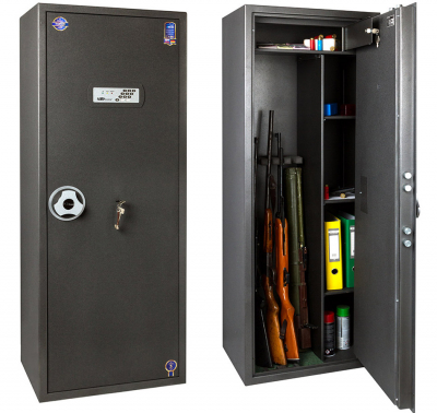 Сейф оружейный Safetronics TSS 160MEs/K4