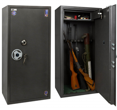 Сейф оружейный Safetronics TSS 125MLGs/K9
