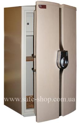 Дизайнерский сейф с отделкой кожей ЛУКА БИРМИНГЕМ Leather