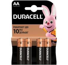 Батарейка Duracell AA MN1500 LR06 * 4