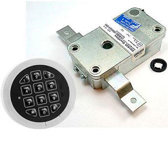 Замок электронный M-LOCKS EM1620 + панель ST4005
