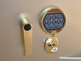 Ручка сейфовая M-LOCKS HA2300 GOLD