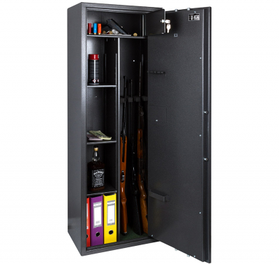 Сейф оружейный Safetronics MAXI 5ME/K3