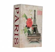 Книга-сейф Париж (кодовый замок)