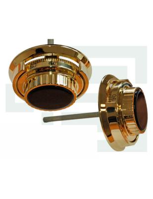 Замок механический кодовый LA GARD 3390 + лимб 2085 Brass